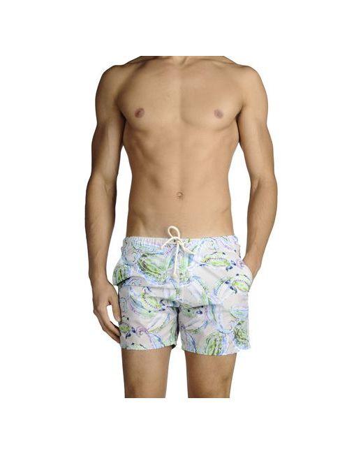 Mosaique | Мужские Зелёные Шорты Для Плавания