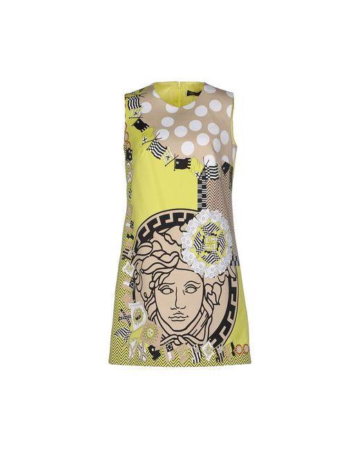 Versace   Женское Зелёное Короткое Платье