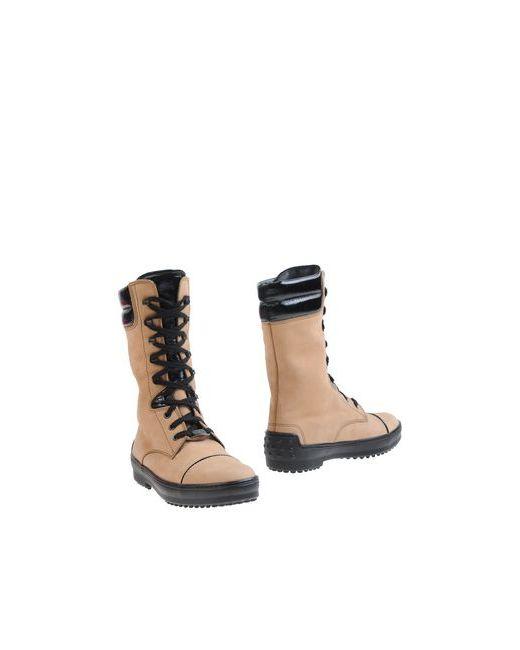 Tod'S | Женские Песочные Полусапоги И Высокие Ботинки