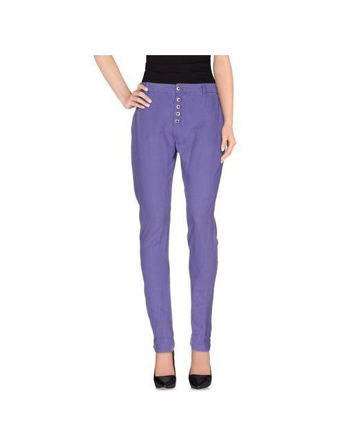 Pepe Jeans London   Женские Фиолетовые Повседневные Брюки