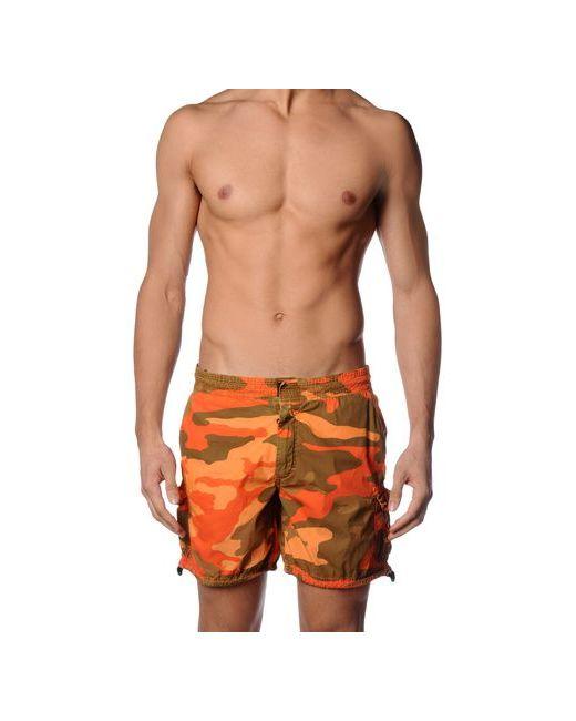Mason'S   Мужские Оранжевые Шорты Для Плавания