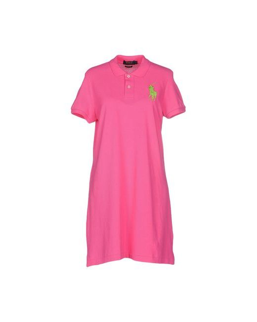 Polo Ralph Lauren | Женское Фуксия Короткое Платье