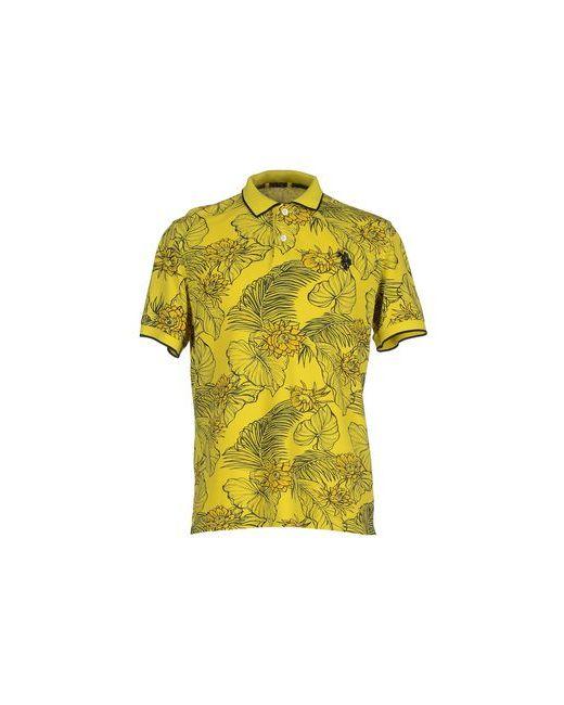 U.S. Polo Assn. | Мужское Жёлтое Поло