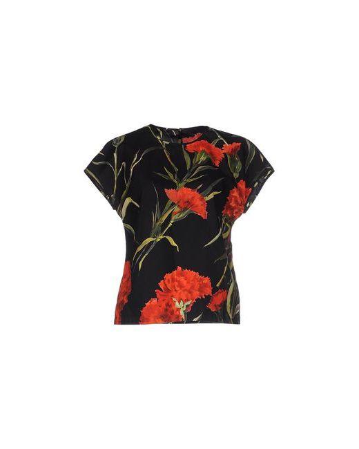 Dolce & Gabbana | Женская Чёрная Футболка