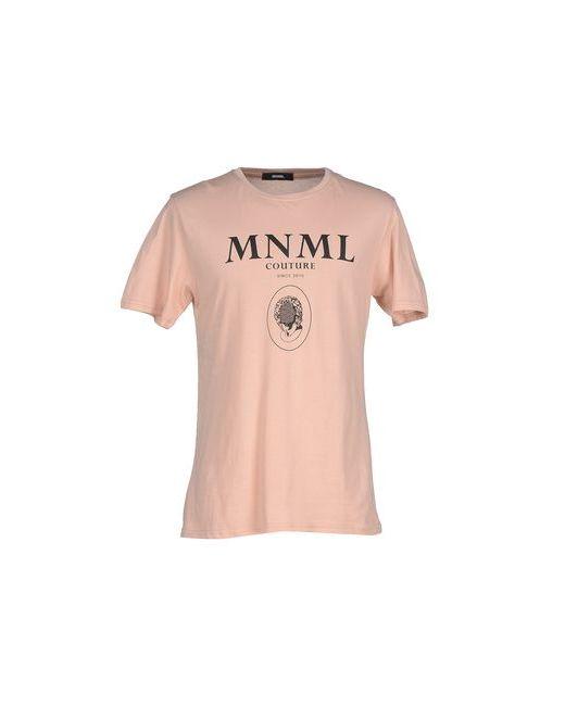 MNML COUTURE | Мужская Розовая Футболка