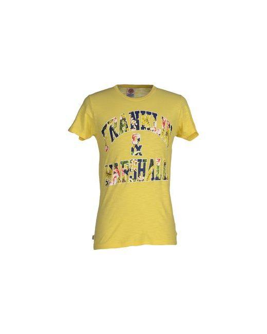 Franklin & Marshall   Мужская Жёлтая Футболка
