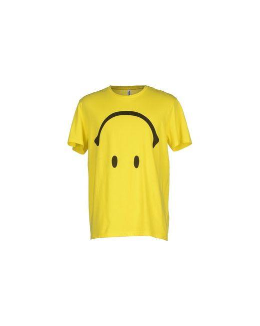 Moschino Swim   Мужская Жёлтая Футболка