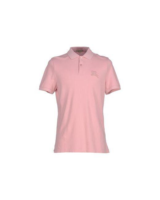 Burberry Brit | Мужское Розовое Поло