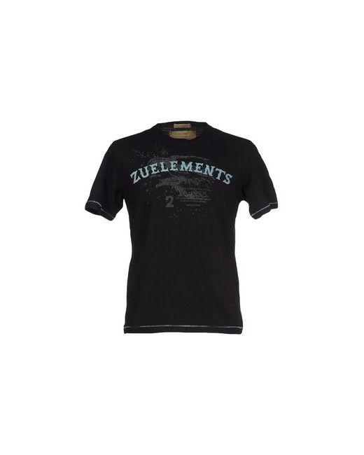 Zu+Elements | Мужская Чёрная Футболка