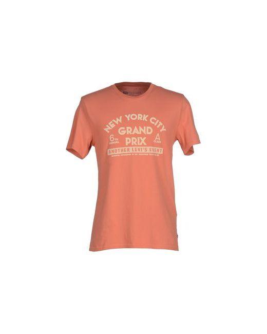 Levi'S Red Tab   Мужская Оранжевая Футболка