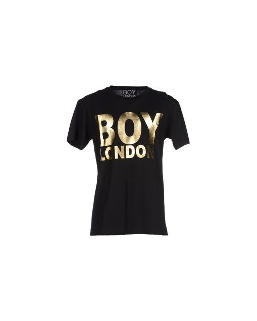 Boy London | Мужская Чёрная Футболка