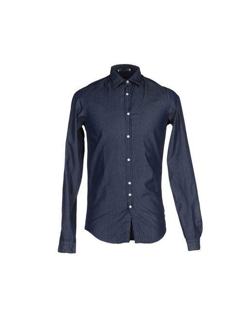Aglini | Женская Синяя Джинсовая Рубашка