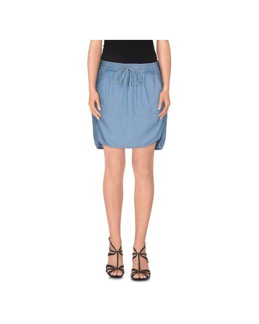Calvin Klein Jeans | Женская Синяя Джинсовая Юбка