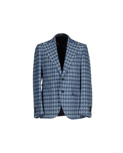 GABRIELE PASINI | Мужская Синяя Джинсовая Верхняя Одежда