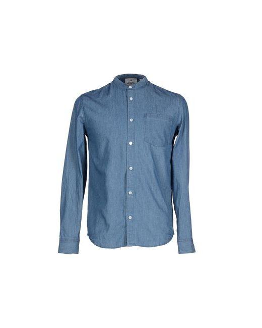Cheap Monday   Мужская Синяя Джинсовая Рубашка