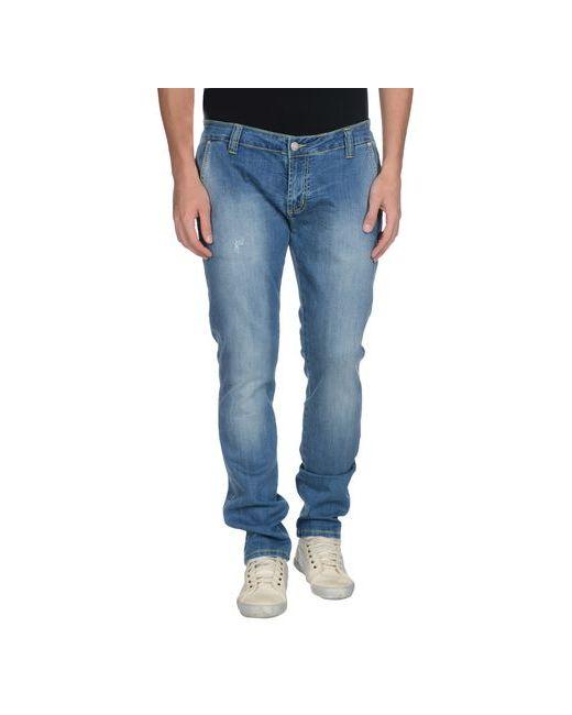 Gj Gaudi' Jeans   Мужские Синие Джинсовые Брюки