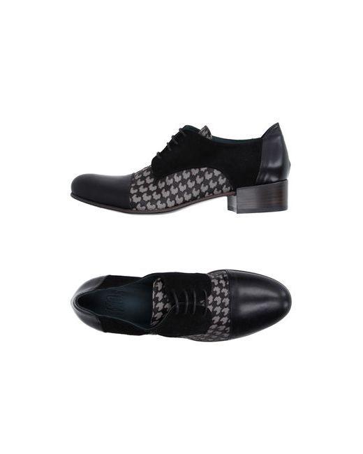 Ixos | Женская Чёрная Обувь На Шнурках
