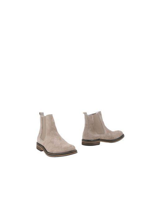 National Standard   Мужские Бежевые Полусапоги И Высокие Ботинки