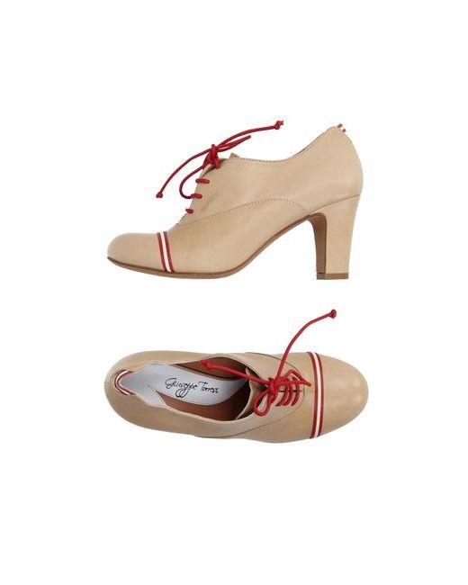 GIUSEPPE TORRESI | Женская Песочная Обувь На Шнурках