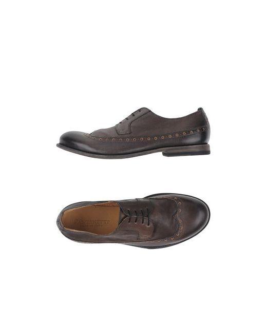 Pantanetti | Мужская Коричневая Обувь На Шнурках