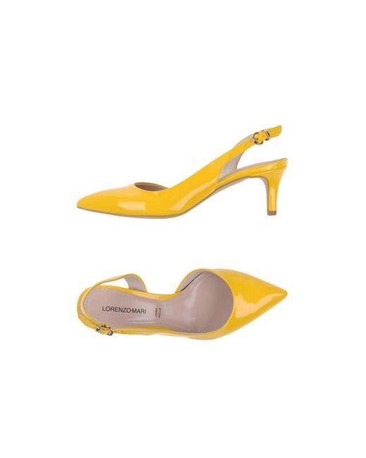 Lorenzo Mari | Женские Жёлтые Туфли