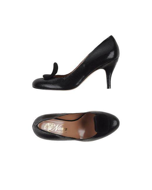 Nora | Женские Чёрные Туфли