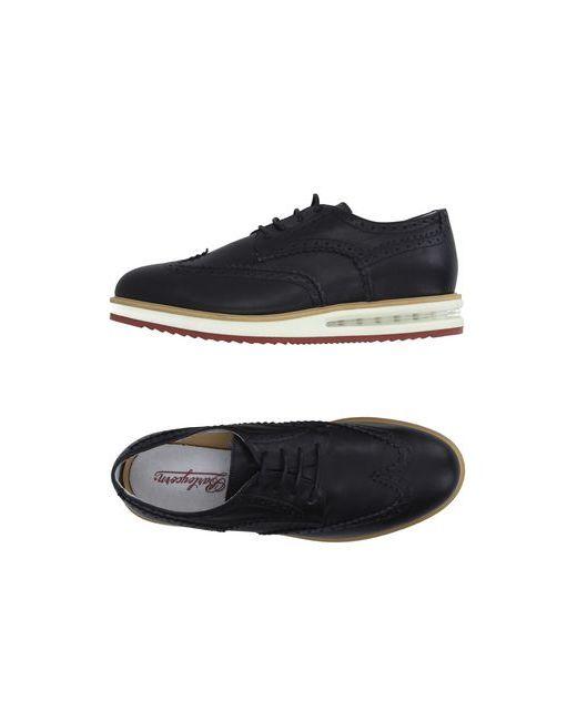 Barleycorn | Мужская Чёрная Обувь На Шнурках