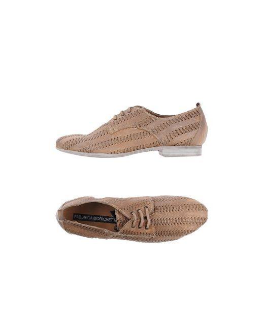 Fabrica Morichetti | Женская Коричневая Обувь На Шнурках