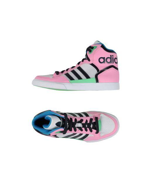 adidas Originals | Женские Розовые Высокие Кеды И Кроссовки
