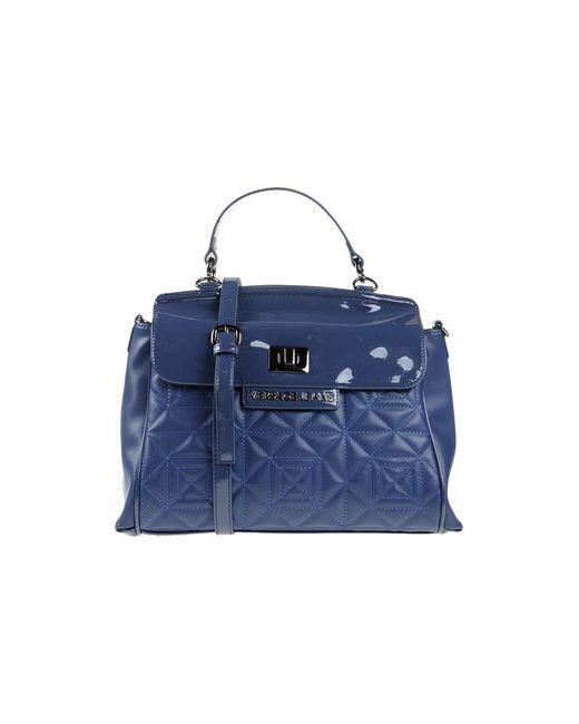 Versace Jeans | Женская Синяя Сумка На Руку