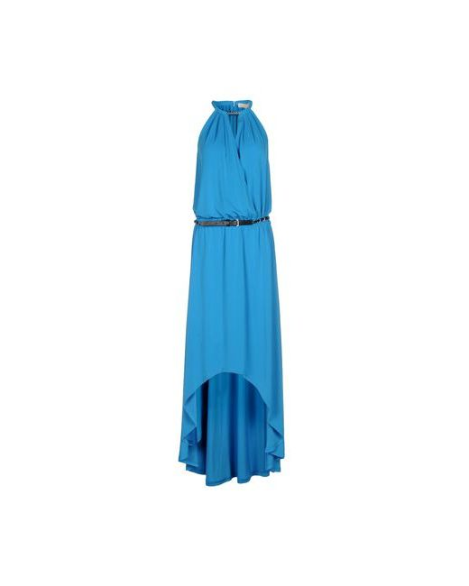 Michael Michael Kors   Женское Бирюзовое Длинное Платье