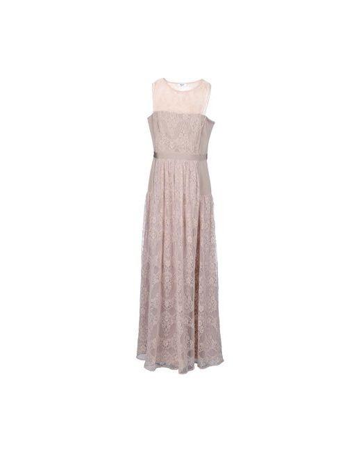 Blugirl Blumarine | Женское Коричневое Длинное Платье