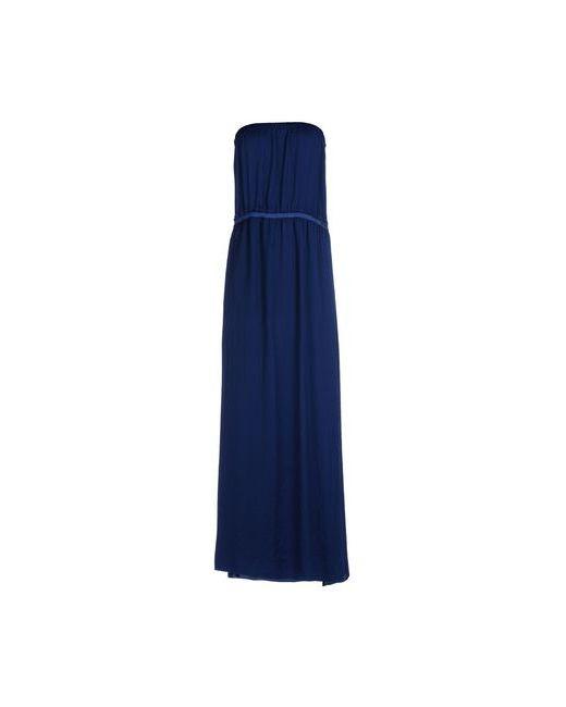 Toy G.   Женское Синее Длинное Платье