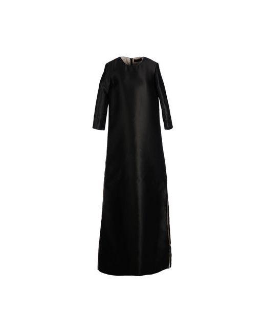 Jo No Fui   Женское Чёрное Длинное Платье