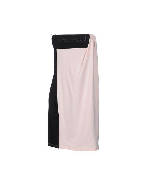 Nioi   Женское Розовое Короткое Платье