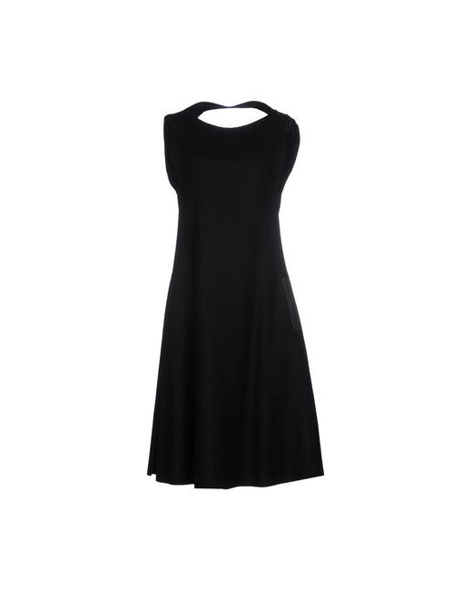 Yohji Yamamoto | Женское Чёрное Платье До Колена