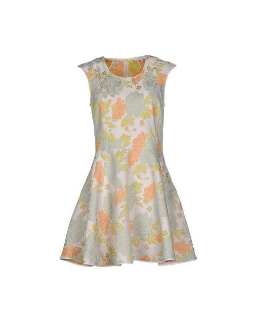 Patrizia Pepe | Женское Белое Короткое Платье