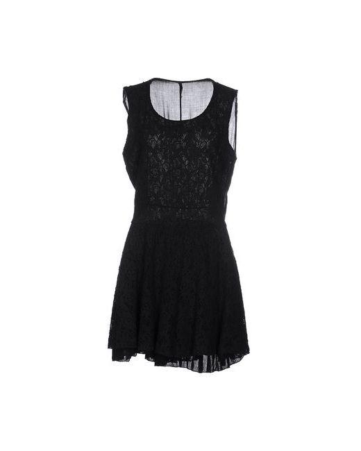 Peperosa | Женское Чёрное Короткое Платье