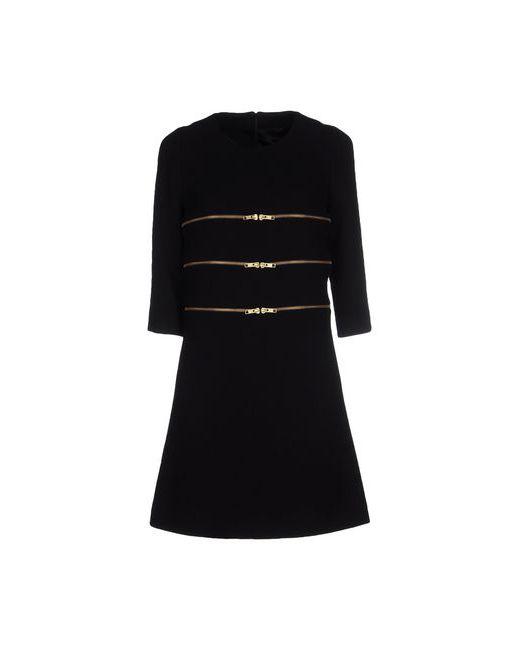 Edward Achour   Женское Чёрное Короткое Платье