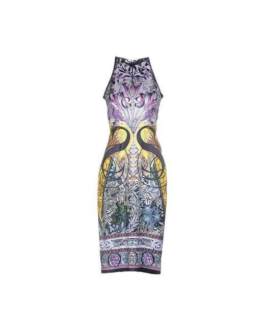 Mary Katrantzou | Женское Фиолетовое Платье До Колена