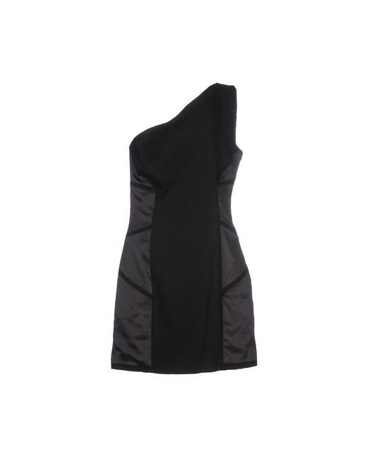 Versus | Женское Чёрное Короткое Платье