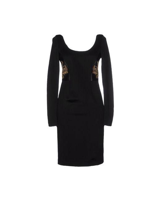 Versace | Женское Чёрное Короткое Платье