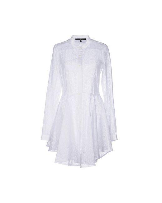Sly010 | Женское Белое Короткое Платье