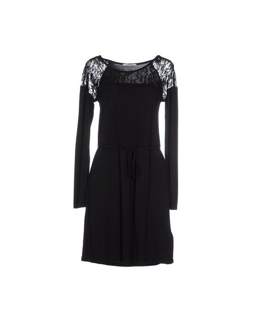 Liu •Jo Jeans   Женское Чёрное Короткое Платье