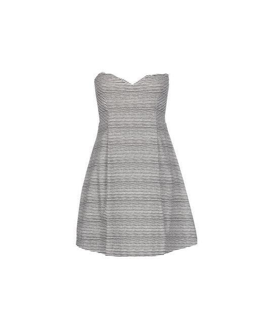 Douuod | Женское Серое Короткое Платье