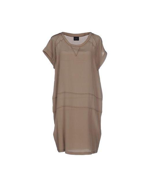 Gotha | Женское Серое Короткое Платье