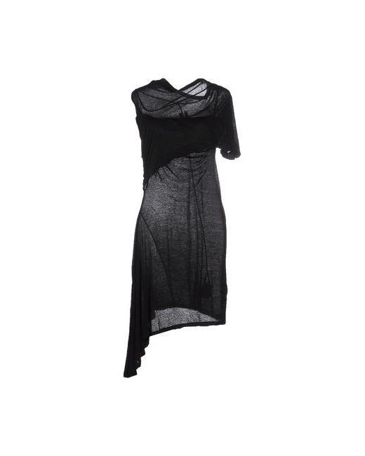 RICK OWENS DRKSHDW | Женское Чёрное Короткое Платье