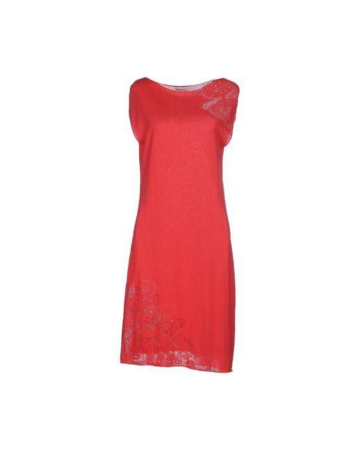 Kangra Cashmere   Женское Розовое Платье До Колена