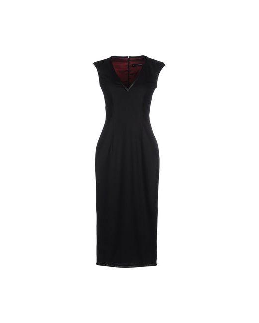 Dsquared2   Женское Чёрное Платье До Колена