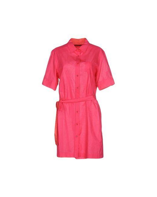 Pianurastudio | Женское Фуксия Короткое Платье